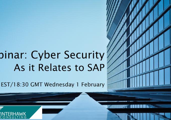 webinar threat detection for sap