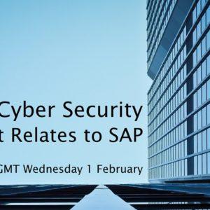 SAP Cybercrime webinar by Winterhawk